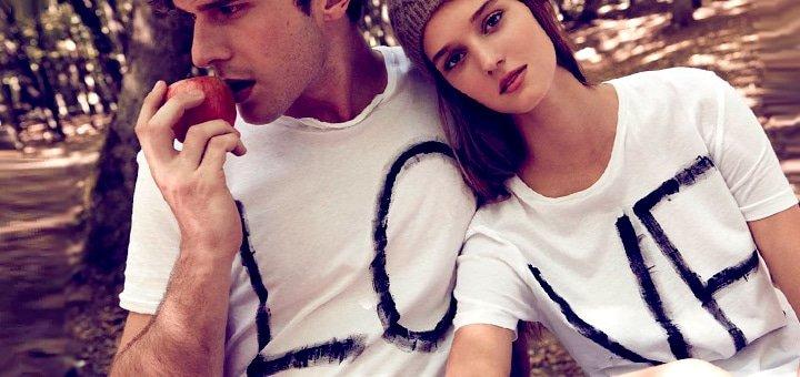 Футболки для влюбленных! Бесплатный Купон на все футболки от Интернет-магазина Clubbershop!