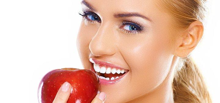 Профессиональная ультразвуковая Air-Flow чистка зубов и полировка зубов пастами в клиниках «Симфония» и «Русановка»!
