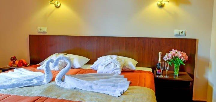 От 3 дней VIP-отдыха с 3-разовым питанием в «Романтик СПА-отель» в Яремче