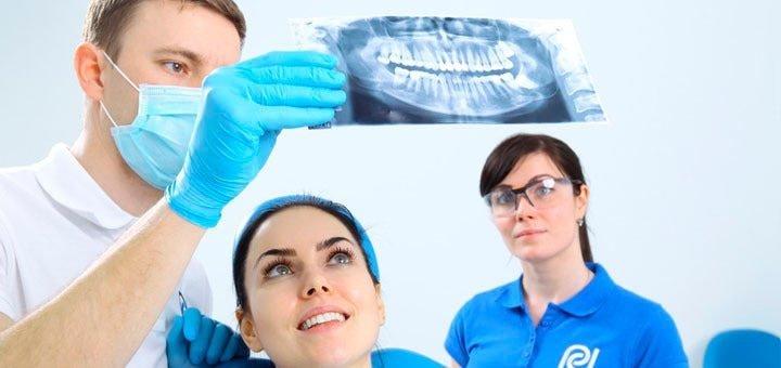 Установка фотополимерных пломб на 1 или 2 зуба + лечение глубокого кариеса в клинике «Professional Dental»