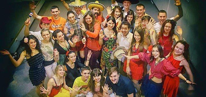 До 24 занятий по всем направлениям латиноамериканских танцев в школе танцев «Lago Dance»