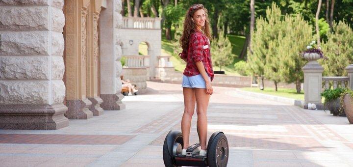 Скидка 50% на прогулки на Segway по Межигорью и Софиевскому парку от «Green Wheels»