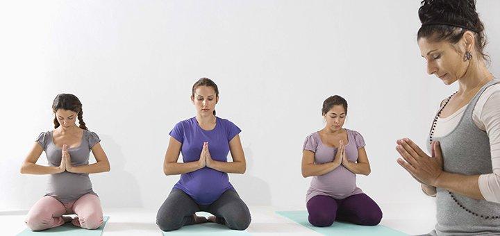 До 3 месяцев занятий йогой для беременных в студии йоги «Self Center»