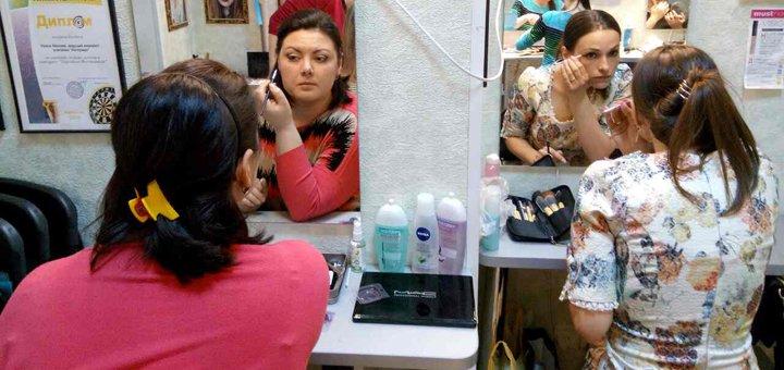 Профессиональные курсы макияжа для себя в студии Ирины Лесовой