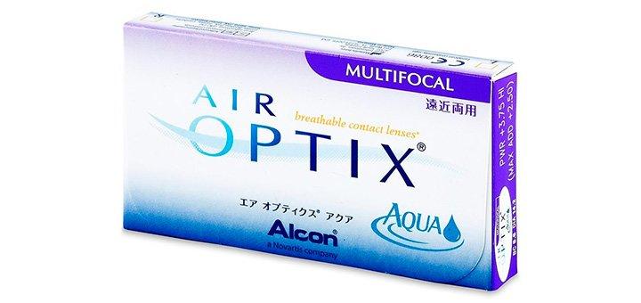 При покупке упаковки линз «Air Optix Multifocal» (3 шт) - четвертую получи в подарок