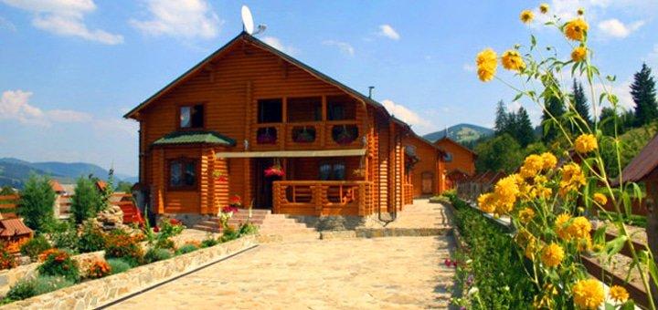 От 4 дней отдыха для двоих в отеле «Верховинский Двор» возле курорта Красия
