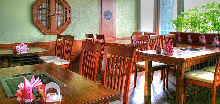 Скидка 30% на все меню кухни и бара в ресторане корейской кухни «Han Gang»