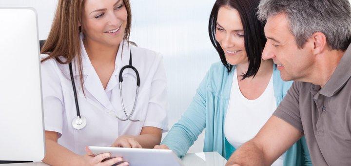 Обследование у гинеколога в медицинском центре «MediLand»