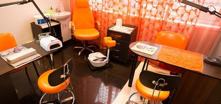 Стрижка, окрашивание, полировка, глубокое восстановление волос в салоне красоты «Adelante»