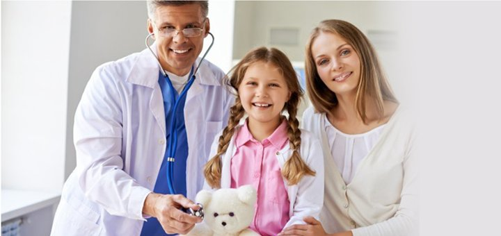 Обследование у педиатра в сети медицинских центров «Гармония Здоровья»