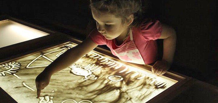 Мастер-класс по песочной анимации от детского центра «Dream Park»