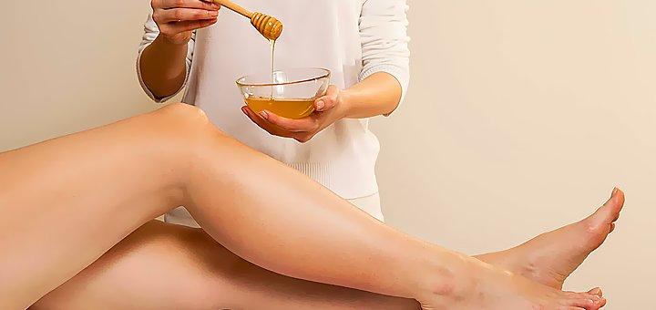 Сахарная депиляция( шугаринг) в Кабинете массажа и эстетики по лицу и телу