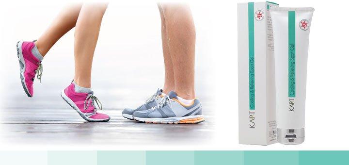 Скидка 20% на охлаждающий и успокаивающий спорт-гель для ног — «Cooling & Relieving Sport Gel»