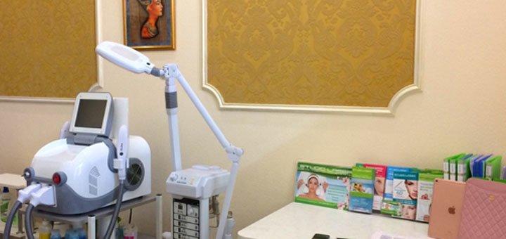 До 5 сеансов алмазной микродермабразии, альгинатная маска в центре «Studio-Laser»