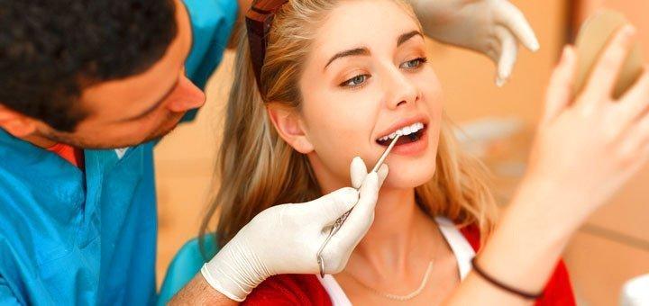 УЗ чистка зубов, чистка Air Flow и глубокое фторирование в стоматологии на Новокрымской