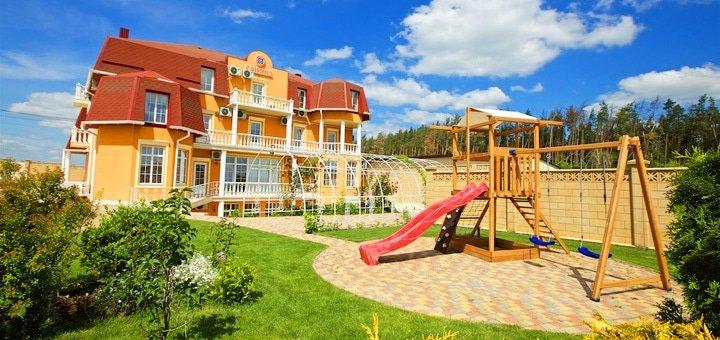 От 2 дней отдыха с трехразовым питанием и бассейном в комплексе «Орияна» под Киевом
