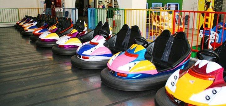 Знижка 50% на катання на автодромі в спортивно-розважальному комплексі «Апекс»