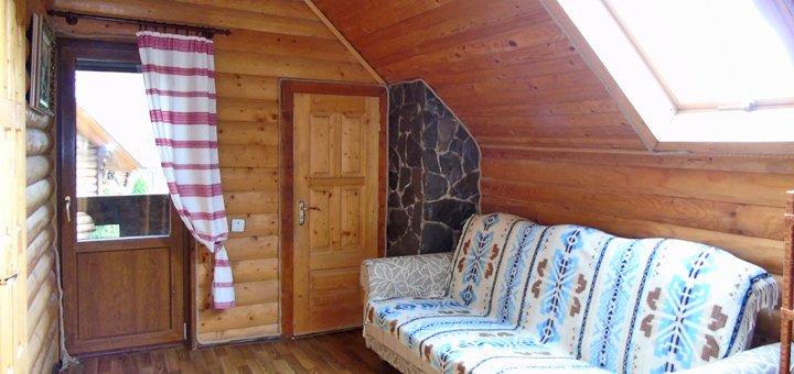 От 3 дней отдыха для компании до 6 человек в отеле «Wood house» в Татарове