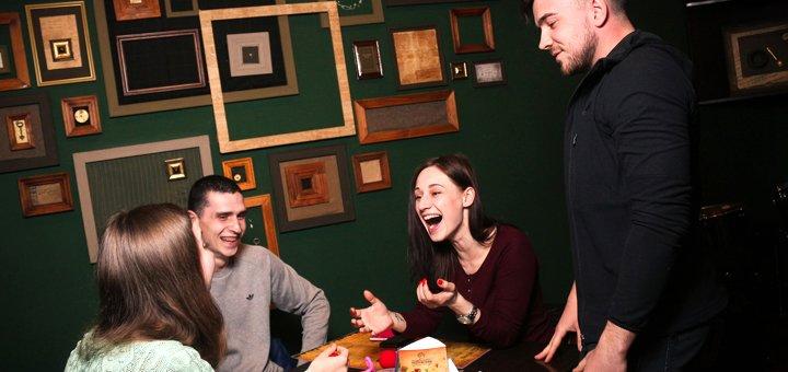 Скидка 50% на всё меню кухни, коктейли, чай и кофе в арт-кафе «Неизвестный Петровский»