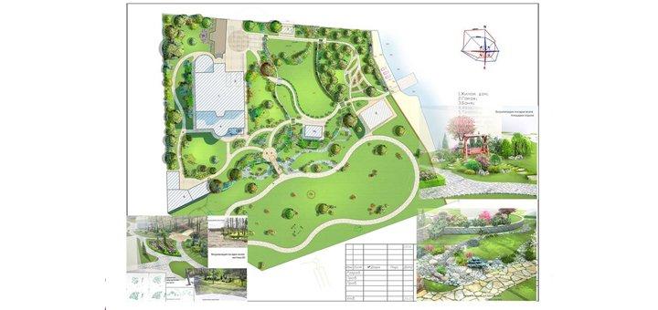 Разработка ландшафтного дизайна от центра ландшафтного мастерства «Флорахауз»