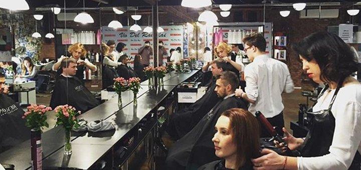 Моделирование, коррекция и окрашивание бровей в салоне красоты «ViaDelRai»