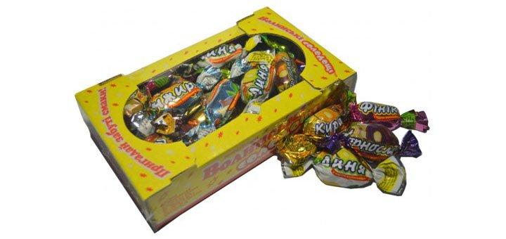 Скидка 5% на подарочные наборы конфет от компании «Смачні подарунки»