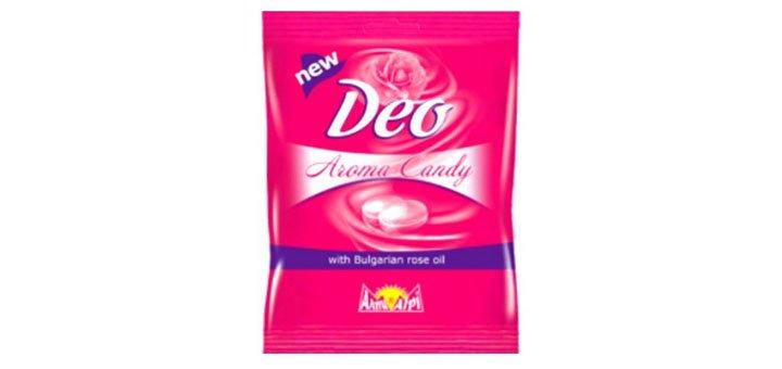Скидка 20 % на Конфеты для удовольствия «Deo Aroma Candy»