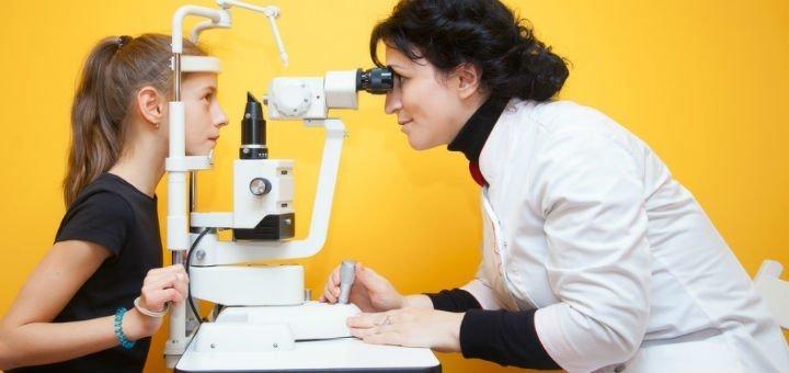 Комплексное офтальмологическое обследование и подбор очков в клинике «Baby luck»