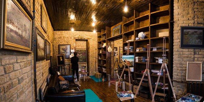 Мастер-класс по живописи в художественной студии «Vostrykh Gallery»