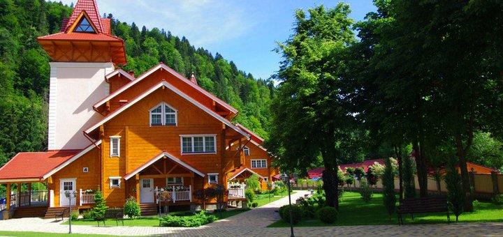 От 3 дней отдыха с питанием и безлимитным посещением SPA в отеле «Карпатські зорі» в Яремче