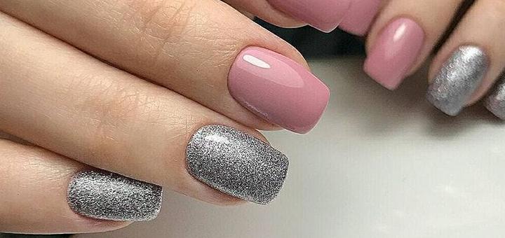 Маникюр и педикюр с покрытием гель лаком в ногтевой студии «Ustichnails»