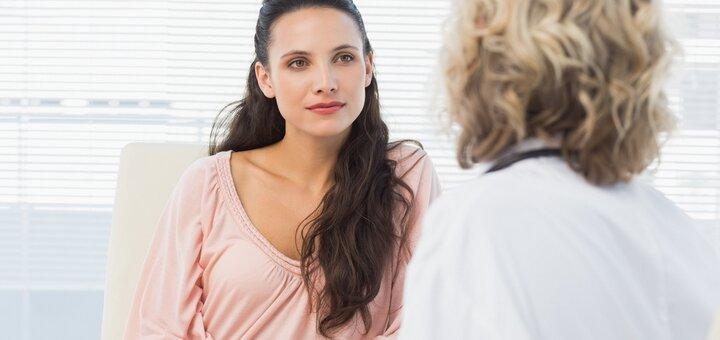 Трансвагинальное УЗИ внутренних женских половых органов в медицинском центре «Герц»