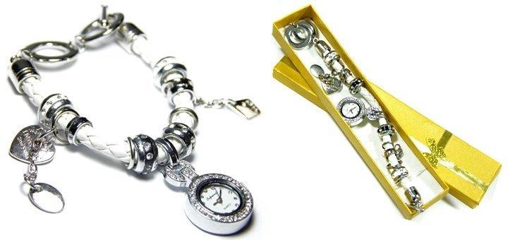 Оригинальное украшение! Часы-браслет в стиле Пандора всего за 260 грн.!