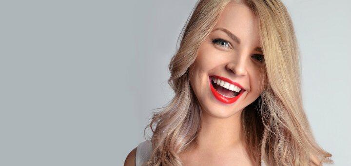 Ультразвуковая чистка зубов с «Air-Flow» и глубоким фторированием в стоматологии на Алексеенко