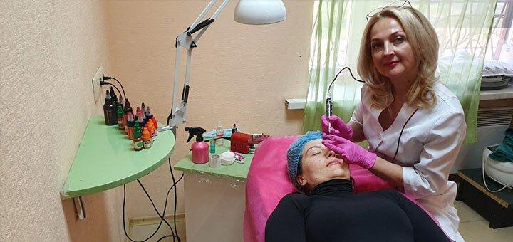 Перманентный макияж век, бровей или губ от мастера Аллы Хорошиловой