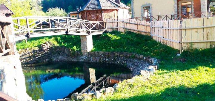 От 3 дней отдыха в июне для компании в отеле «Колыба Колорит» в Татарове