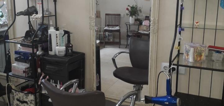 Стрижка, окрашивание и укладка волос в салоне красоты «Аллюр»