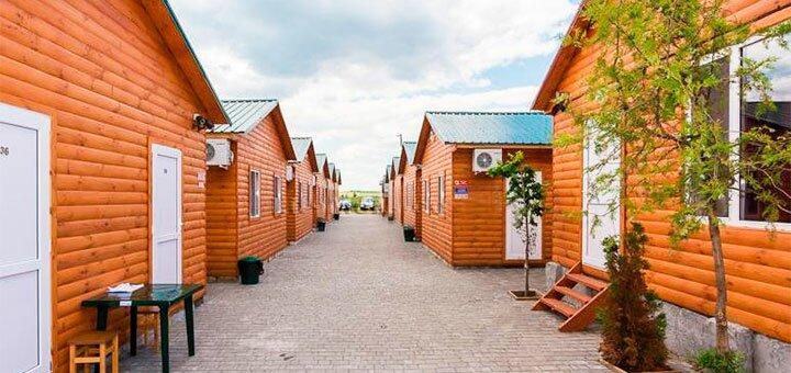 От 3 дней отдыха в июне в кемпинге «Теремок» в Коблево