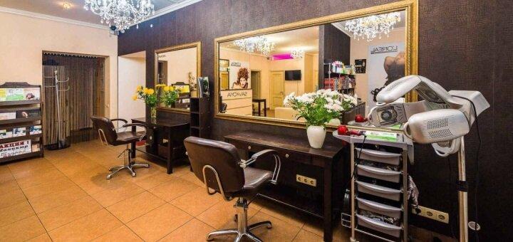 Укладка и дневной или вечерний макияж в салоне красоты «Ansi beauty»