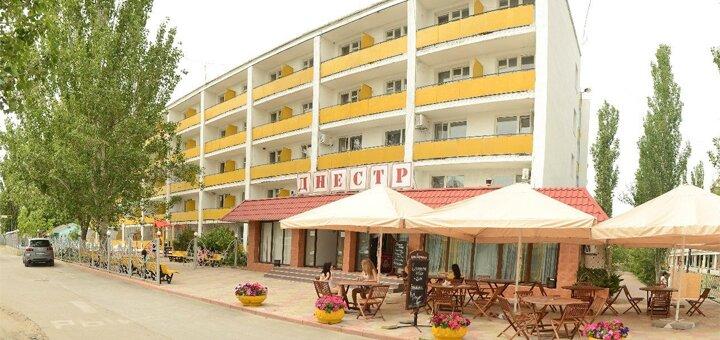 От 3 дней отдыха у моря в июне в отеле с бассейном «Днестр» в Коблево