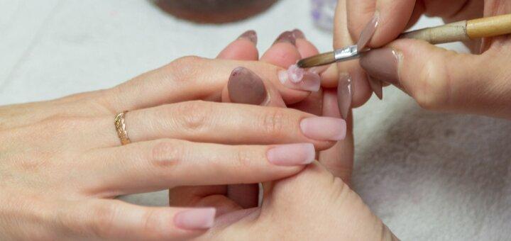 Скидка 5% на индивидуальный курс обучения наращиванию ногтей гелем