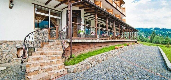 All inclusive по-карпатски: проживание, питание, бассейны в комплексе «Admiral-SPA» в Славском