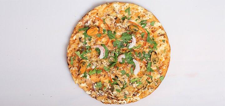 Скидка 50% на большую и маленькую пиццу в Пиццерии на Ощепкова