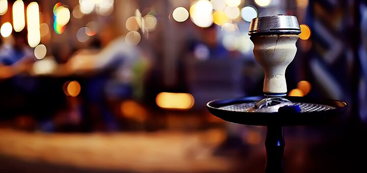 Кальян и джин-тоник в баре «Морфий»