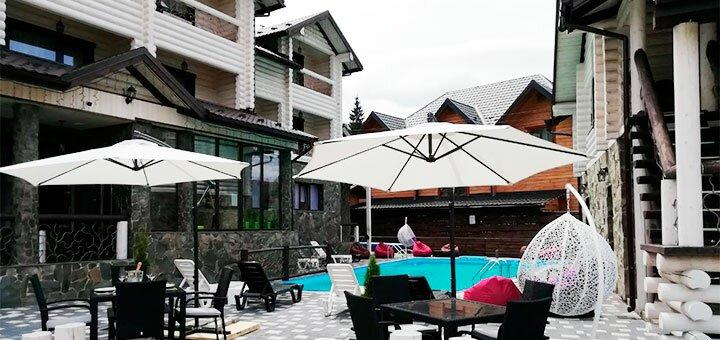 От 3 дней отдыха в горах с бассейном и завтраками в новом отеле «Whiteberry» в Буковеле