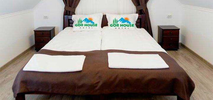 От 4 дней отдыха с завтраками в отеле «GorHouse Hotel» в Яремче
