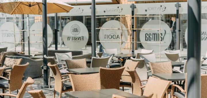 Скидка 50% на всё меню кухни и бара в летней террасе «Портофино»