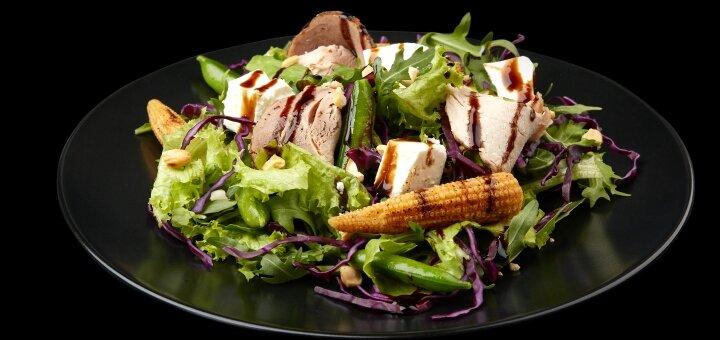 Знижка 20% на меню кухні у ресторанах «A la minute» та «Pasta Mia» на АЗК «ОККО»