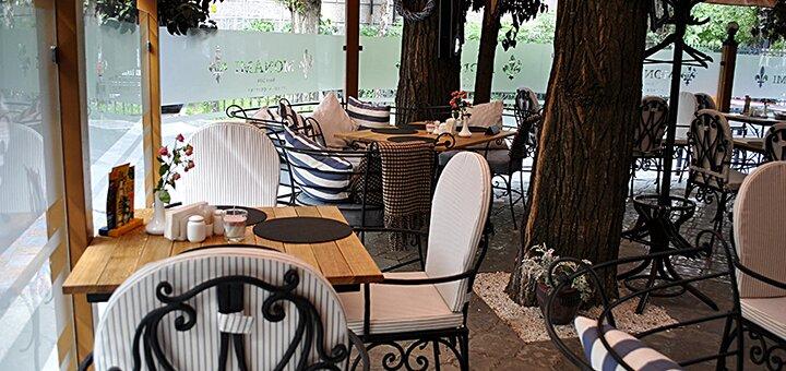 Рыбный дегустационный сет с вином во французском ресторане «Mon Ami»