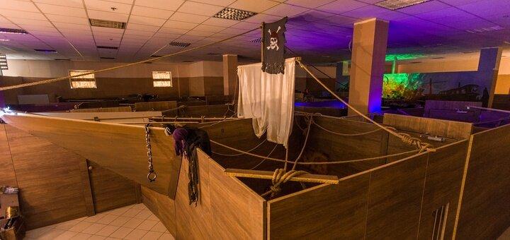 2 часа игры для 10 деток в квест-комнате «Корабль-Призрак»